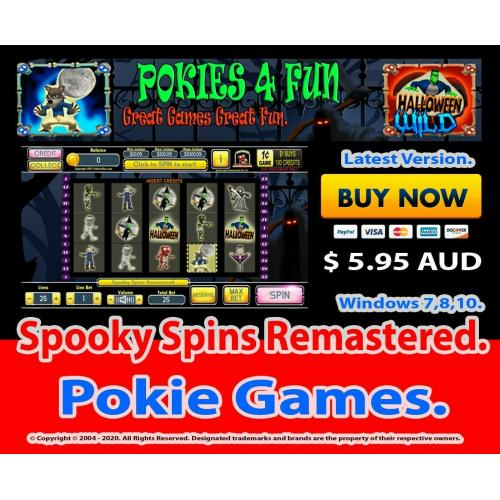 Spooky Spins Remastered - Registration Key and Download Link Win 7,8,10
