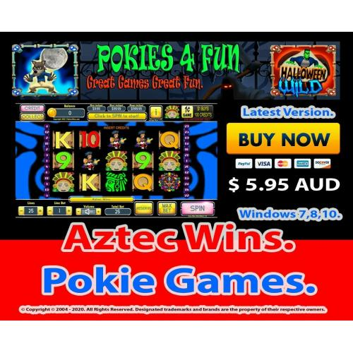 Aztec Wins - Registration Key and Download Link Win 7,8,10